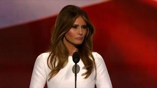 Trump introduces wife Melania at Republican convention