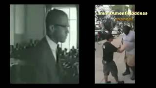 Malcolm X 'Speaks About Baton Rouge Shooting'