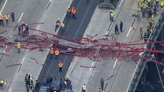Crane Collapses On New York's Tappan Zee Bridge