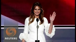Republicans voters on Melania's speech: Who cares?