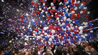 Preparing for the GOP convention's big balloon drop