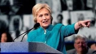 GOP convention speakers take aim at Hillary Clinton