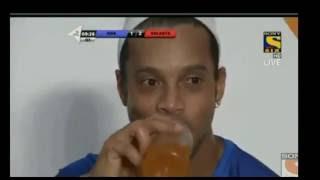 Ronaldinho's 5 goals in Indian Premier Futsal League for Goa Vs Bengaluru HD