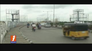 Advertisement Hoarding Industry Badly Effected By Heavy Rains | GHMC | iNews