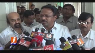 TRS Minister Laxma Reddy Inspects Kaloji Health University Land | iNews
