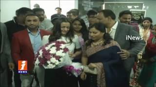 Mahesh Babu Wife Namrata Shirodkar Launches Kris Gethin Gym At Kothapet | iNews