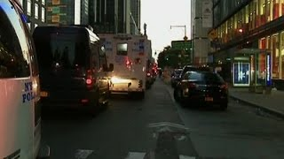Raw: New York City Police in Standoff With Man