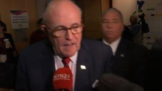 Giuliani: Ted Cruz 'Hung Himself' at RNC Speech