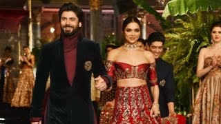 India Couture Week 2016: Deepika-Fawad look ravishing in Manish Malhotra's Ensemble