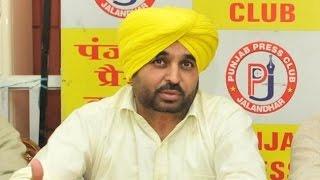 Minister warns Bhagwant Mann of sending him to jail