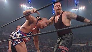 WWE Undisputed Title Triple Threat Match: Vengeance 2002 on WWE Network
