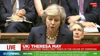 LIVE: New British PM Theresa May in 1st Prime Minister's Questions