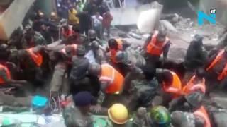 Four killed, nine injured in a building collapse in Darjeeling
