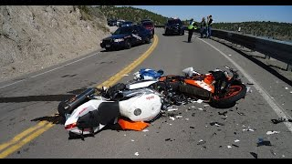 Motorcycle Crashes & Accidents 2016 - Motorcycle Fail