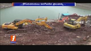 LandSlides Falling at Patalganga Srisailam | iNews