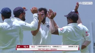 India vs West Indies 1st Test Day 3 Highlights - Indian Bowlers Dominates West Indies Follow on