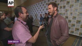 Pratt on 'Guardians' Disneyland ride