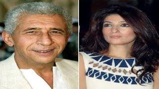Twinkle Khanna's harsh reply to Naseeruddin over his 'Poor Rajesh' remark