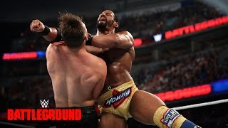 Darren Young vs. The Miz - Intercontinental Title Match: WWE Battleground 2016 on WWE Network