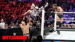 John Cena, Enzo & Big Cass vs. The Club: WWE Battleground 2016 on WWE Network