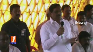 AP Deputy CM KE Krishna Murthy Visits Kurnool Dist | iNews