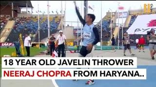 Neeraj Chopra: The First Indian To Hold An Athletics World Record