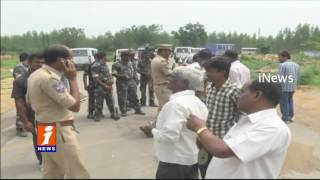 High Security In Medak district As T Congress Call for Chalo Mallanna Sagar Project | iNews