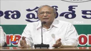 Jaipal Reddy Condemns Congress leaders Arrest Over Chalo Mallanna Sagar Project   iNews