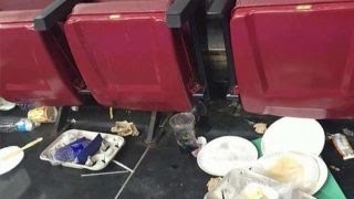 Dirty Democrats? Crews scramble to clean mess from DNC day 1