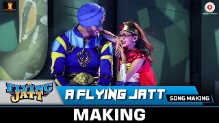 A Flying Jatt (Title Track) - Song Making  Tiger Shroff & Jacqueline Fernandez  Sachin - Jigar