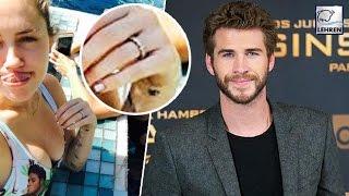 Miley Cyrus U0026 Liam Hemsworth MARRIED??? Shocking Wedding Ring