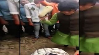 On cam:  Trupti Desai assaults youth in public