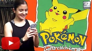 (VIDEO) Anushka Sharma CAUGHT Pokemon Go