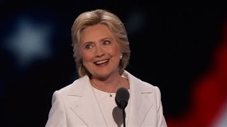 Hillary Clinton formally accepts nomination for president