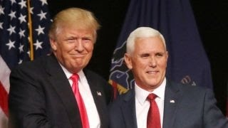 Trump, Pence campaigning in Iowa on last day of DNC