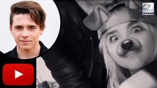 Brooklyn Beckham KISSES Chloe Moretz In Adorable Video