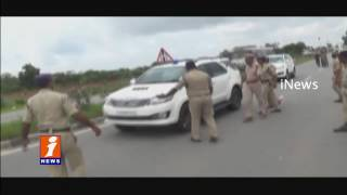 Police Arrests Congress Leaders while Going to Meet Mallanna Sagar Farmers | iNews