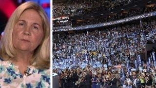 Widow of murdered police officer reacts to DNC