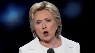 Hillary takes aim at Trump in acceptance speech