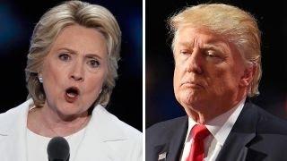 Hillary Clinton attacks Trump in acceptance speech
