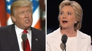 Clinton vs. Trump speeches - By the issues