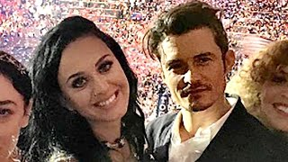 Katy Perry Performs 'Rise' & 'Roar' At the DNC; Orlando Bloom Caught Swooning