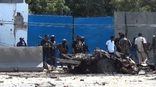Car bomb attackers kill at least 6 in Mogadishu
