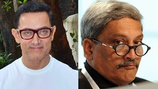 Twitter Slams Manohar Parrikar For Aamir Khan Remark