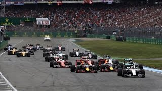 German Grand Prix Lewis Hamilton in lead at start Formula1 F1 GermanGp