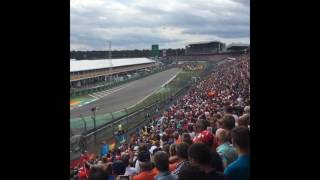 German Grand Prix Lewis Hamilton takes lead at start Formula1 F1 GermanGp