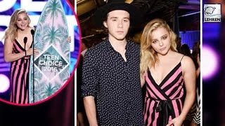 Chloe Moretz & Brooklyn Beckham At Teen Choice Awards 2016