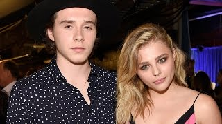 Chloe Grace Moretz & Brooklyn Beckham Are SO CUTE at Teen Choice Awards