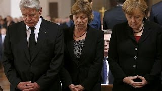 German leaders honour victims of Munich massacre