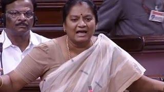 I Have Life Threat Confesses AIADMK's MP Sasikala Pushpa
